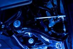 汽车机械轮子 免版税库存图片