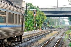 汽车柴油快速铁路运输 库存图片