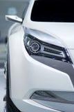 汽车概念白色 免版税库存图片