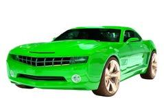 汽车概念肌肉 图库摄影