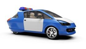 汽车概念远期查出的警察查阅 免版税库存图片