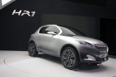 汽车概念hr1 peugeot 免版税库存照片