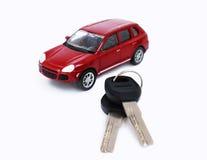 汽车模型玩具 图库摄影