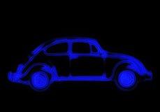汽车氖 向量例证