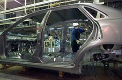 汽车氢核 免版税图库摄影