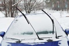 汽车水平的风档刮水器 免版税库存图片