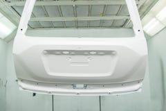 汽车油漆修理系列 库存图片