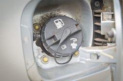 汽车燃料盖帽 库存照片