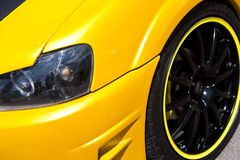 汽车特写镜头自定义 免版税库存图片