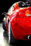 汽车现代红色 库存图片
