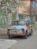 给汽车生活一份新的租约  免版税库存照片