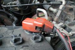 汽车电池 库存照片