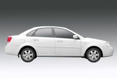汽车白色 免版税库存图片