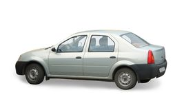 汽车白色 免版税图库摄影