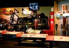 汽车的历史记录在史密松宁的,华盛顿特区。 库存图片