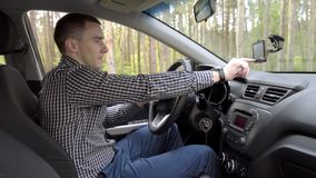 汽车的商人 股票视频