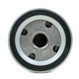 汽车的圆的旋上类型滤油器 库存照片