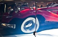 汽车的外部细节 响铃圣诞节设计要素 图库摄影