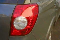 从汽车的尾灯 库存图片