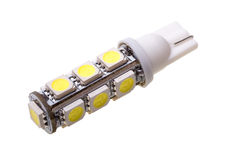 汽车的灯有13个LEDs的 免版税库存照片