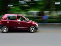 汽车的行动摇摄 库存图片