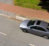 汽车的视图 免版税库存照片