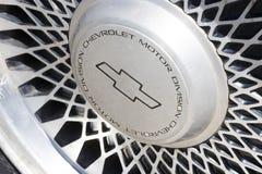 汽车的象征是一个减速火箭的老薛佛列特写镜头 图库摄影