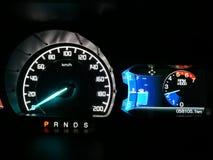 汽车示速器 库存照片