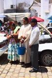汽车祝福在科帕卡巴纳,玻利维亚 免版税库存图片