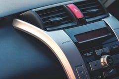 汽车空气有条件盘区 库存照片