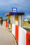 汽车站 免版税图库摄影