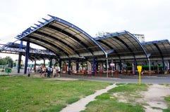 汽车站 库存照片