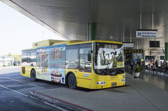 汽车站 免版税库存照片