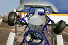 汽车竞争详细资料kark少许通信工具 库存图片