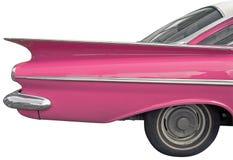 汽车粉红色 免版税库存照片