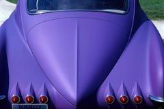 汽车紫色 免版税图库摄影