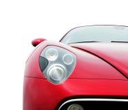 汽车红色体育运动 库存照片