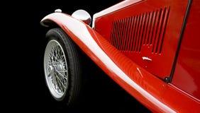 汽车红色体育运动 免版税库存图片