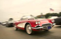 汽车红色体育运动 图库摄影