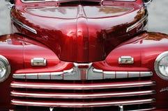 汽车红色葡萄酒 库存照片