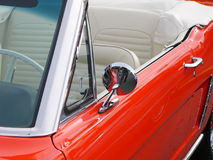 汽车红色 图库摄影