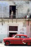 汽车经典之作古巴人 免版税图库摄影