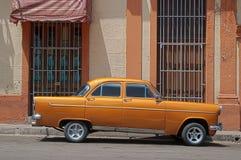 汽车经典之作古巴 免版税库存照片