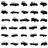 汽车经典之作向量 免版税图库摄影