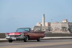 汽车经典之作哈瓦那 古巴 14 05 2015年 免版税库存照片