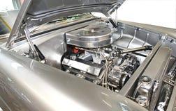 汽车经典之作引擎 库存图片