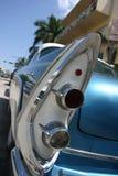 汽车经典光尾标 库存照片