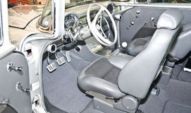 汽车经典内部 免版税库存照片