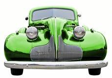 汽车经典绿色 免版税库存图片