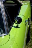 汽车绿色石灰体育运动 库存图片